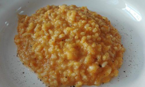 risotto zucca e carote
