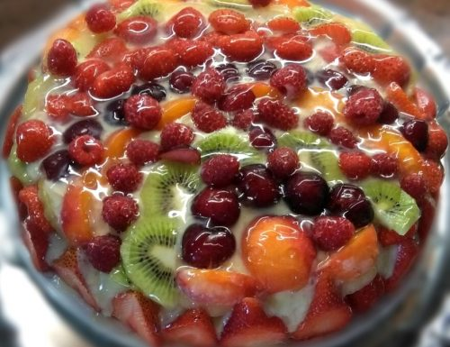 torta macedonia di frutta – giugno