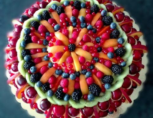 torta trionfo di frutta – giugno