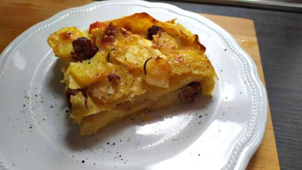 lasagne salsiccia e patate