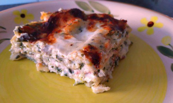 lasagne delicate agli spinaci