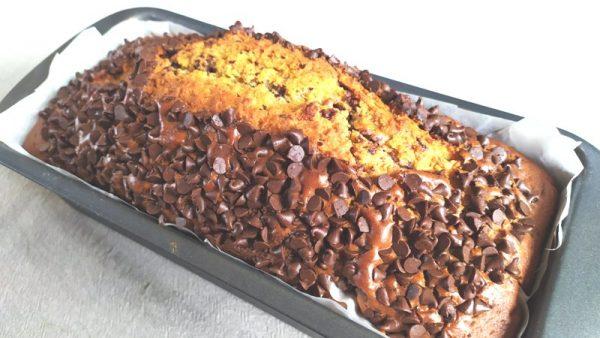 Plumcake cioccolato e caffè