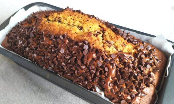 Plumcake cioccolato fondente e caffè