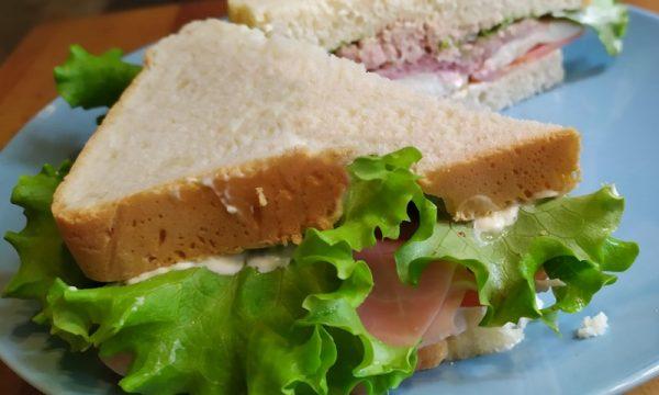 Pan carré con macchina del pane