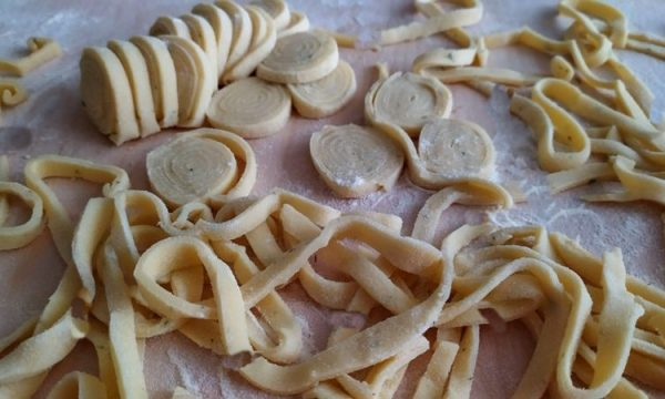 Scialatielli campani, la pasta dello chef c