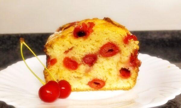 Plum-cake alle amarene