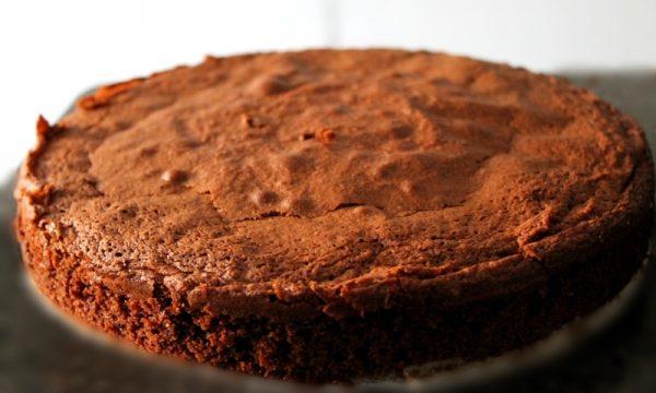 torta fondente al cioccolato