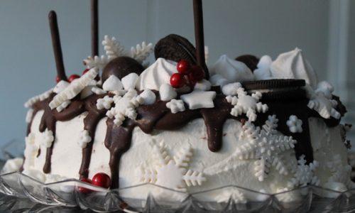 drip cake winter