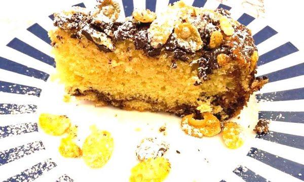torta corn-flakes alla nutella