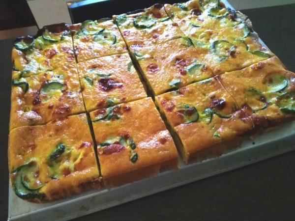 Tortino salato di zucchine
