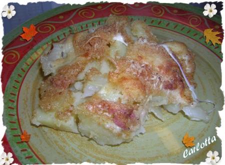 Gratè di patate e finocchi-La cucina di Carlotta