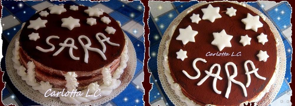 Torta di compleanno tiramisù- La cucina di Carlotta