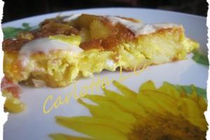 Frittata di patate-La cucina di Carlotta