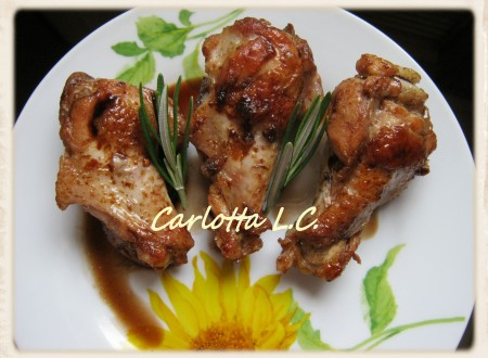 Pollo all'aceto balsamico-La cucina di Carlotta