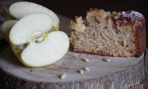 Torta di mele con farina integrale