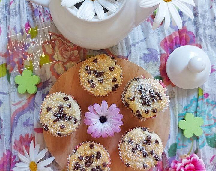 Muffin con ricotta e albumi