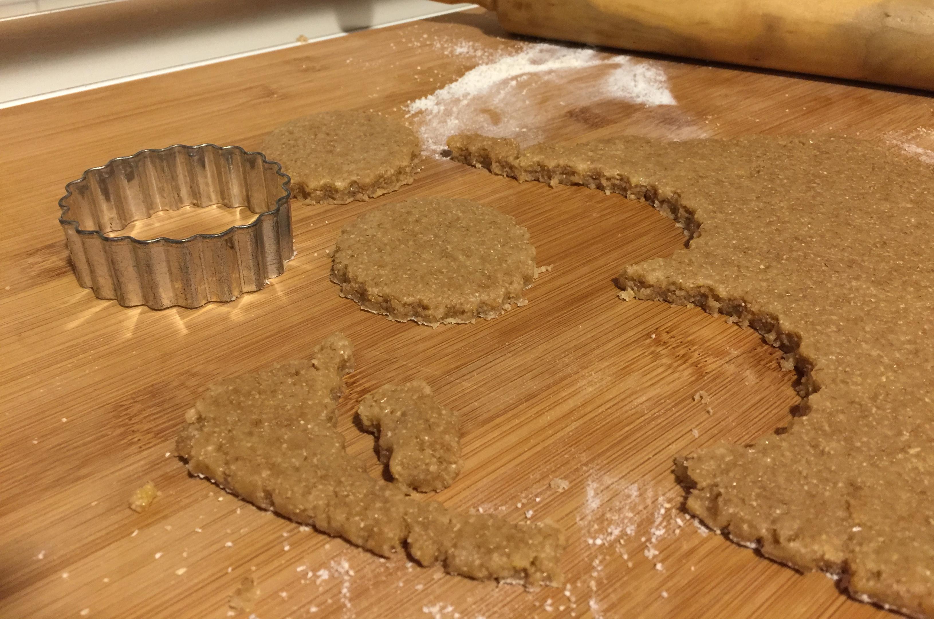 Biscotti integrali miele farina integrale