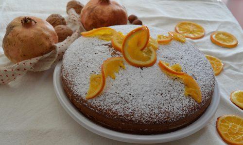 Torta all'arancia senza burro