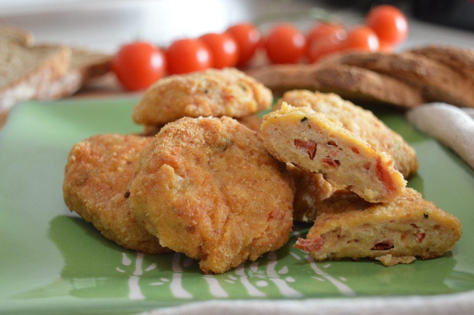 Polpette di pollo pomodoro e mozzarella