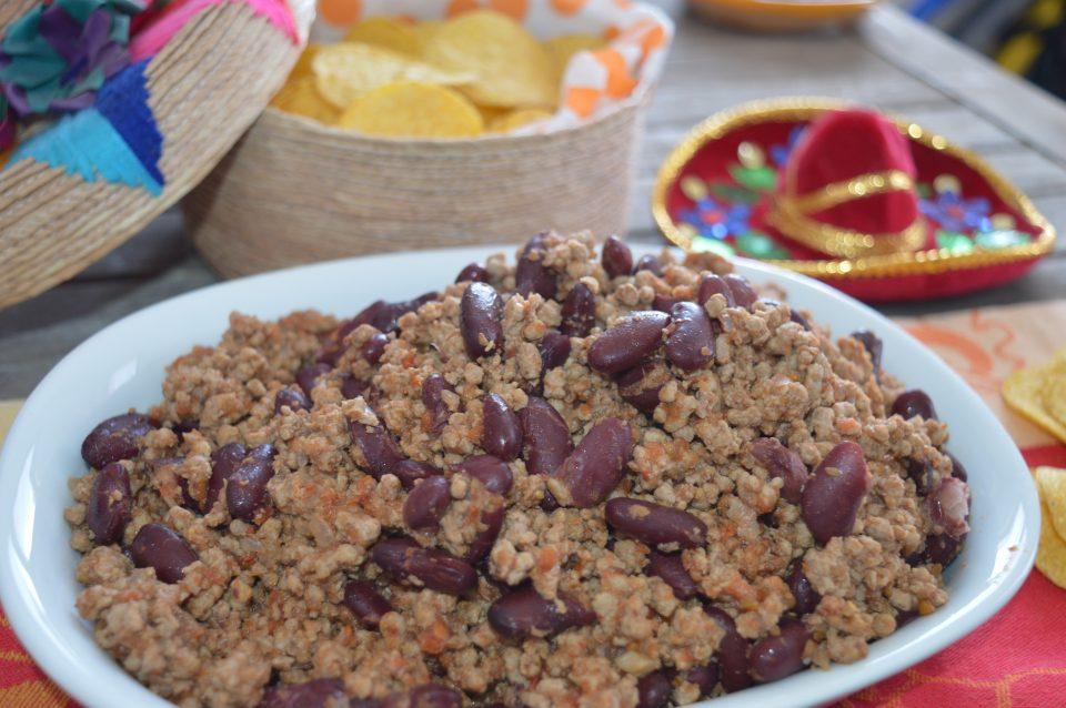 Chili con carne, piatto speziato di origine messicana