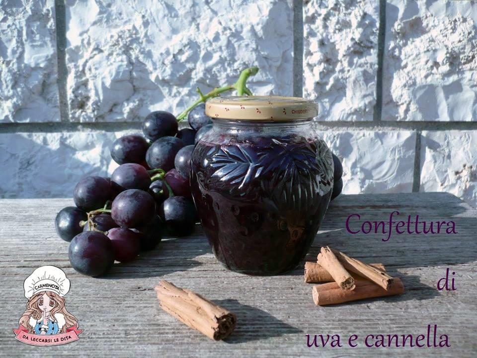 Confettura di uva e cannella