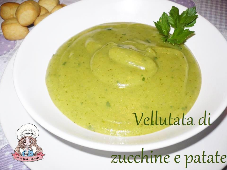 Vellutata di zucchine e patate | Carmencita