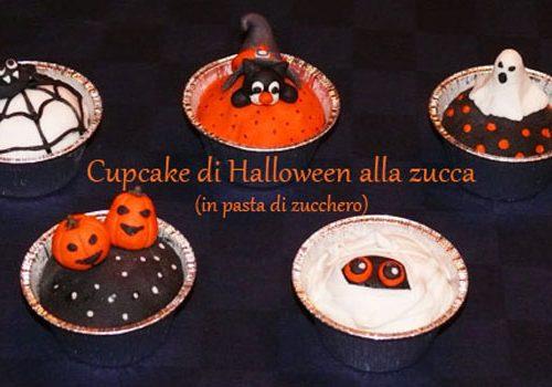 Cupcake di Halloween alla zucca