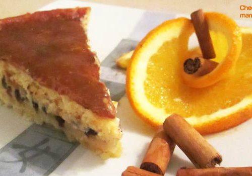 Cheescake alla marmellata di arance