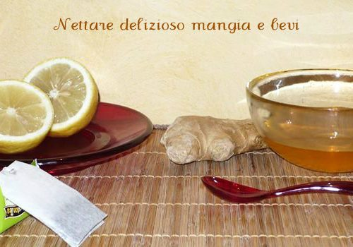 Nettare delizioso mangia e bevi