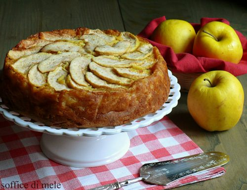 Torta soffice di mele senza burro ricetta leggera
