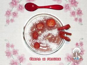 crema di fragole