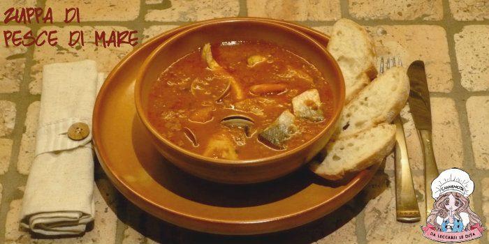 Zuppa di pesce di mare a modo mio