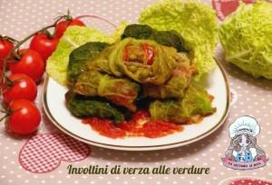 Involtini di verza alle verdure