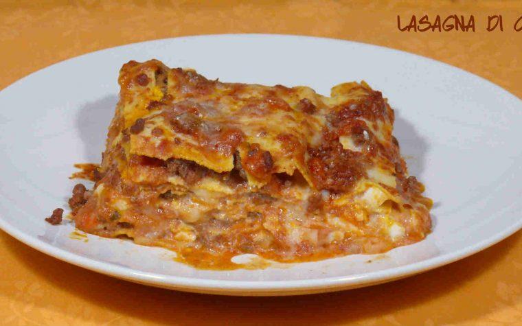 Lasagne di carne intense e gustose