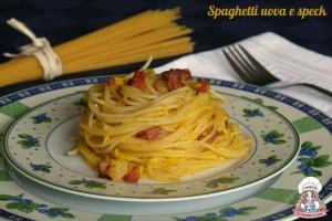 Spaghetti uova e speck