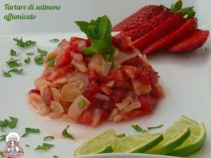 Tartar di salmone affumicato