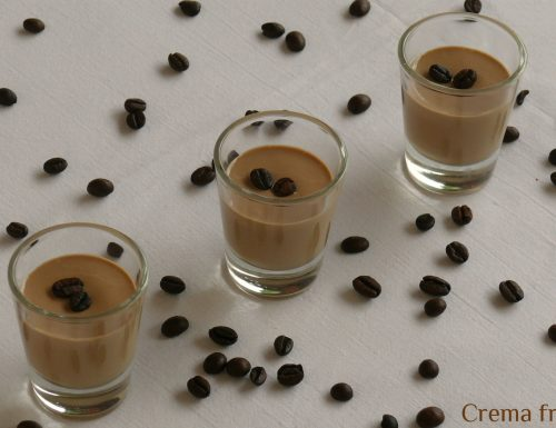 Crema fredda al caffè homemade