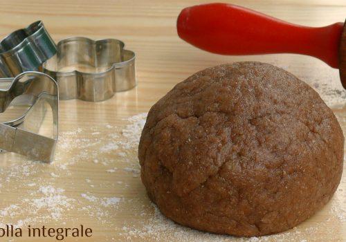 Pasta frolla integrale leggera