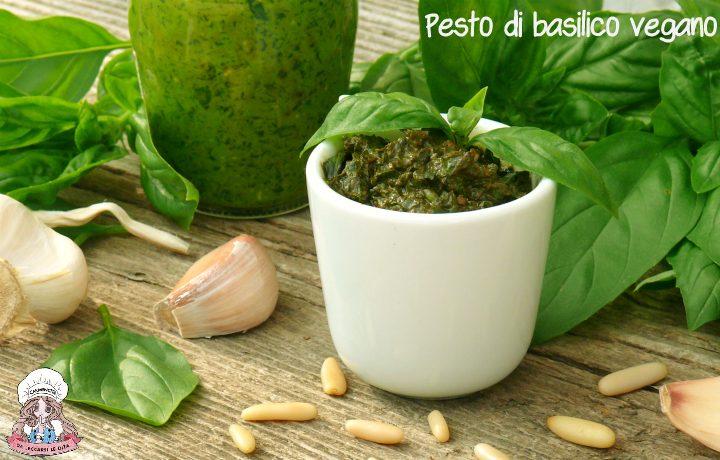 Pesto di basilico vegano