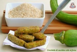 Crocchette di zucchine cotte al forno