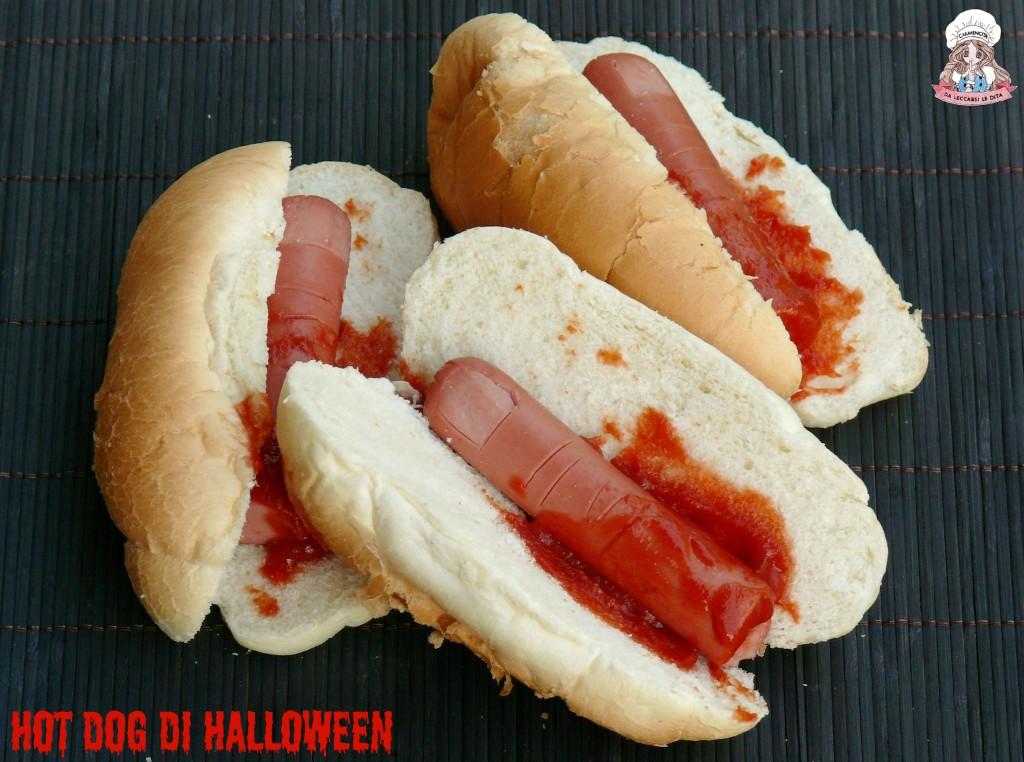 Hot dog di Halloween