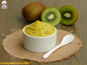 Crema pasticcera al kiwi