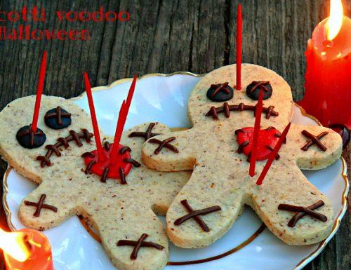 Biscotti voodoo di Halloween