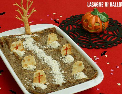 Lasagne di Halloween homemade