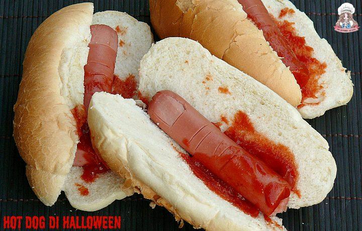 Hot dog di Halloween da brivido