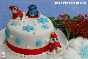 Torta pupazzi di neve