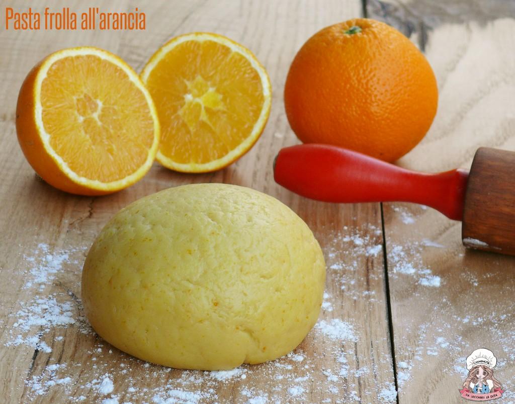 Pasta frolla all'arancia