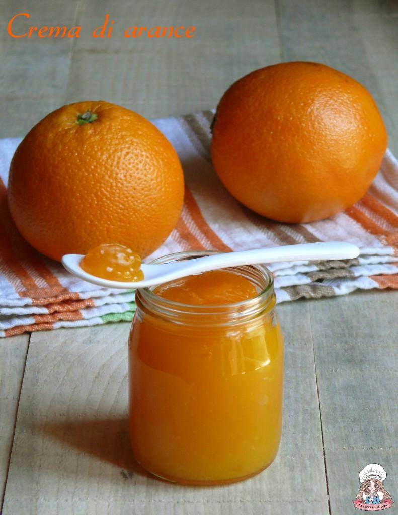 Crema di arance