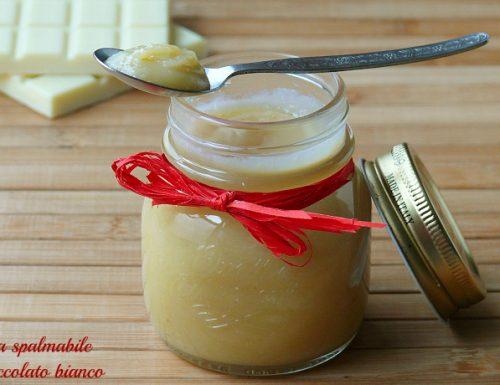 Crema spalmabile al cioccolato bianco idee regalo
