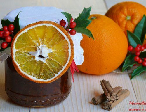 Marmellata di arance e cannella idea regalo